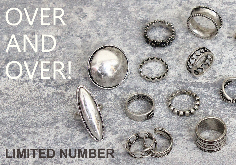 【LIMITED NUMBER】OVER AND OVER!